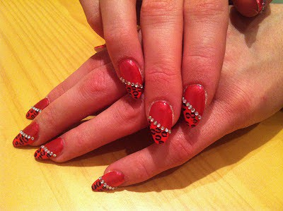 Posh Nails nail art