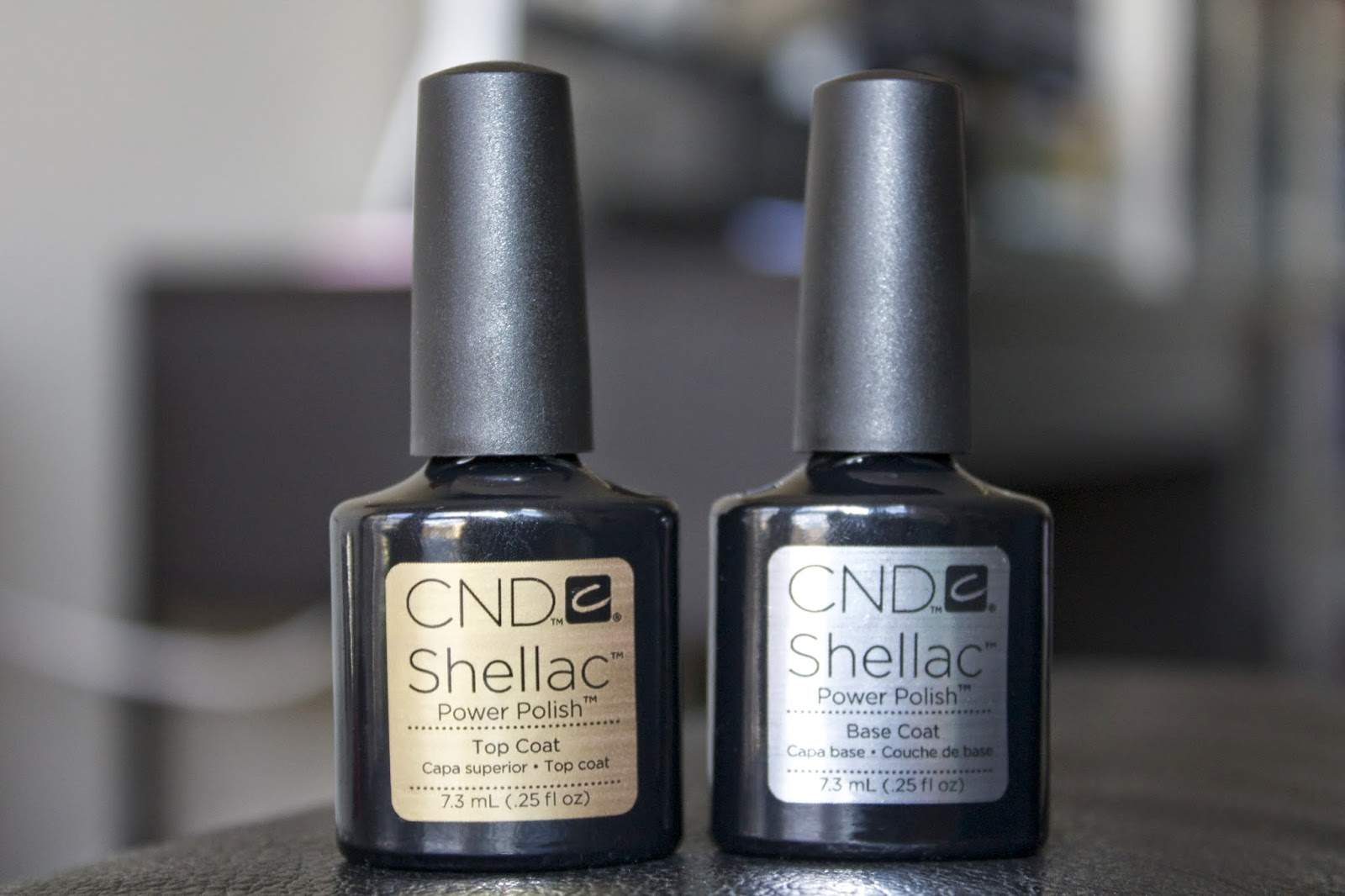 cnd shellac top and base coats