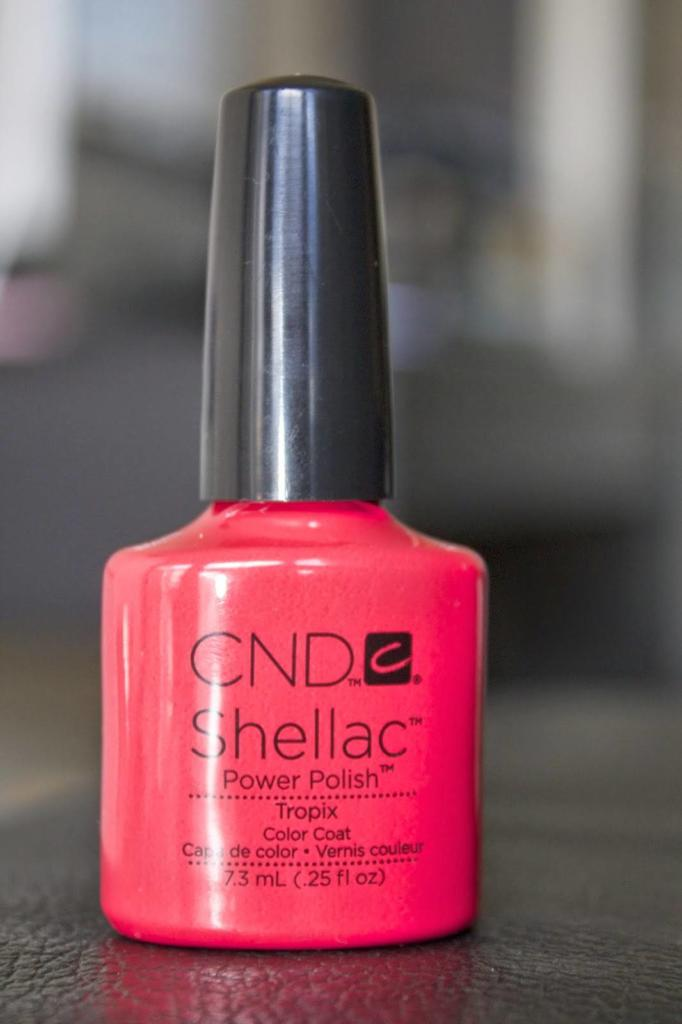 CND Shellac Gel Nail Polish Tropix colour