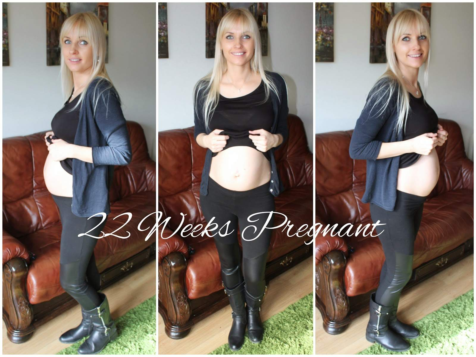 22 weeks pregnant tummy, belly