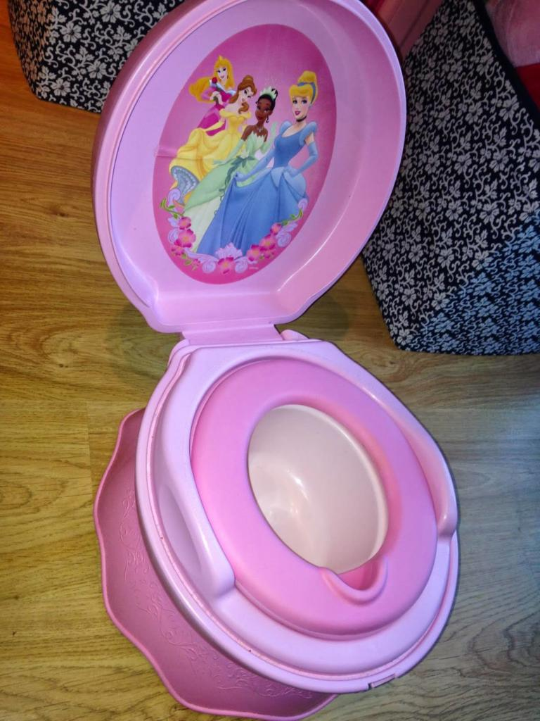how to potty train. potty training. disney princess potty
