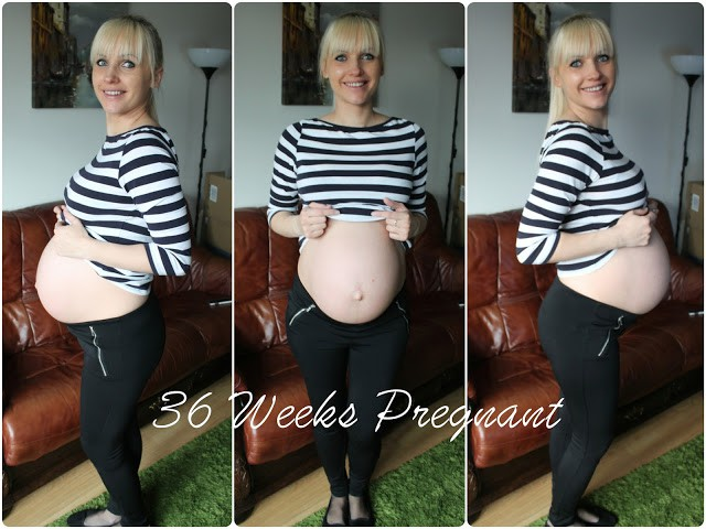 36 weeks pregnant bump photo