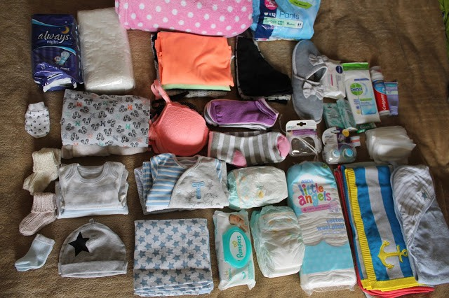 What I Packed in My hospital bag for Labour