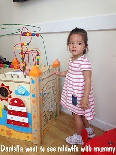 daniella manzano, toddler, half white half filipino girl