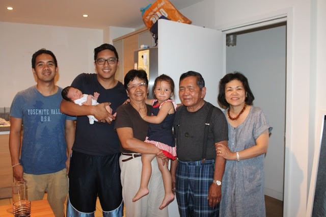 Meet Our New Baby Boy, filipino family