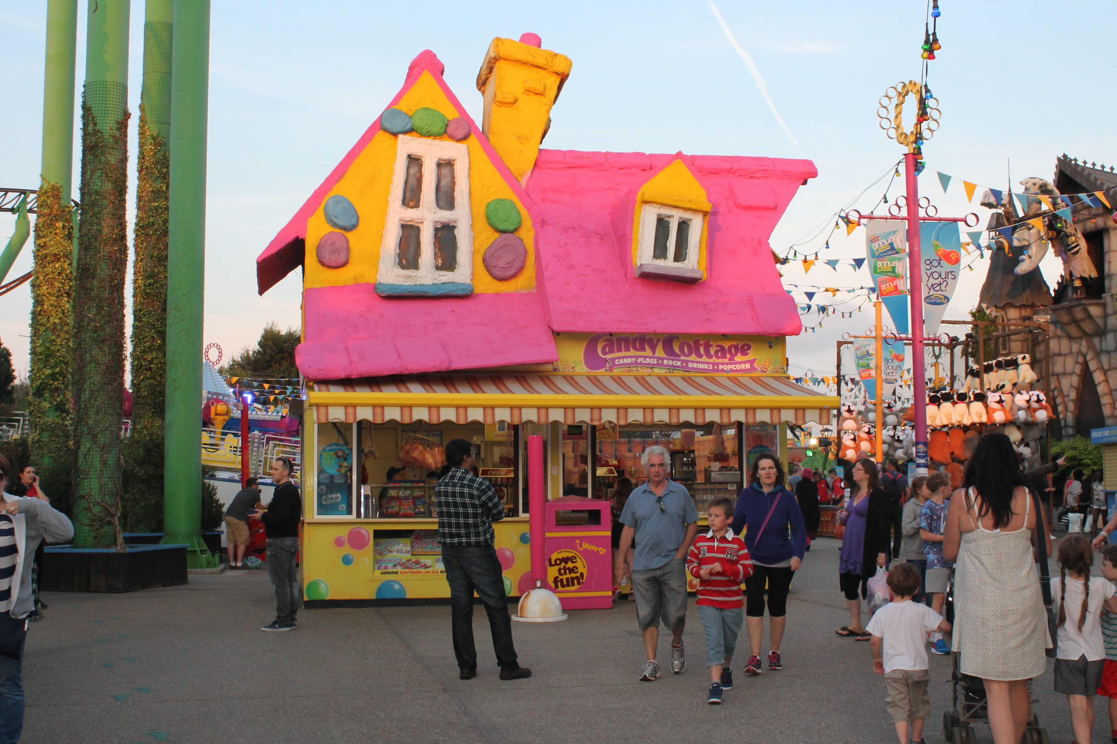 Longer Weekend Invention adventure island southend