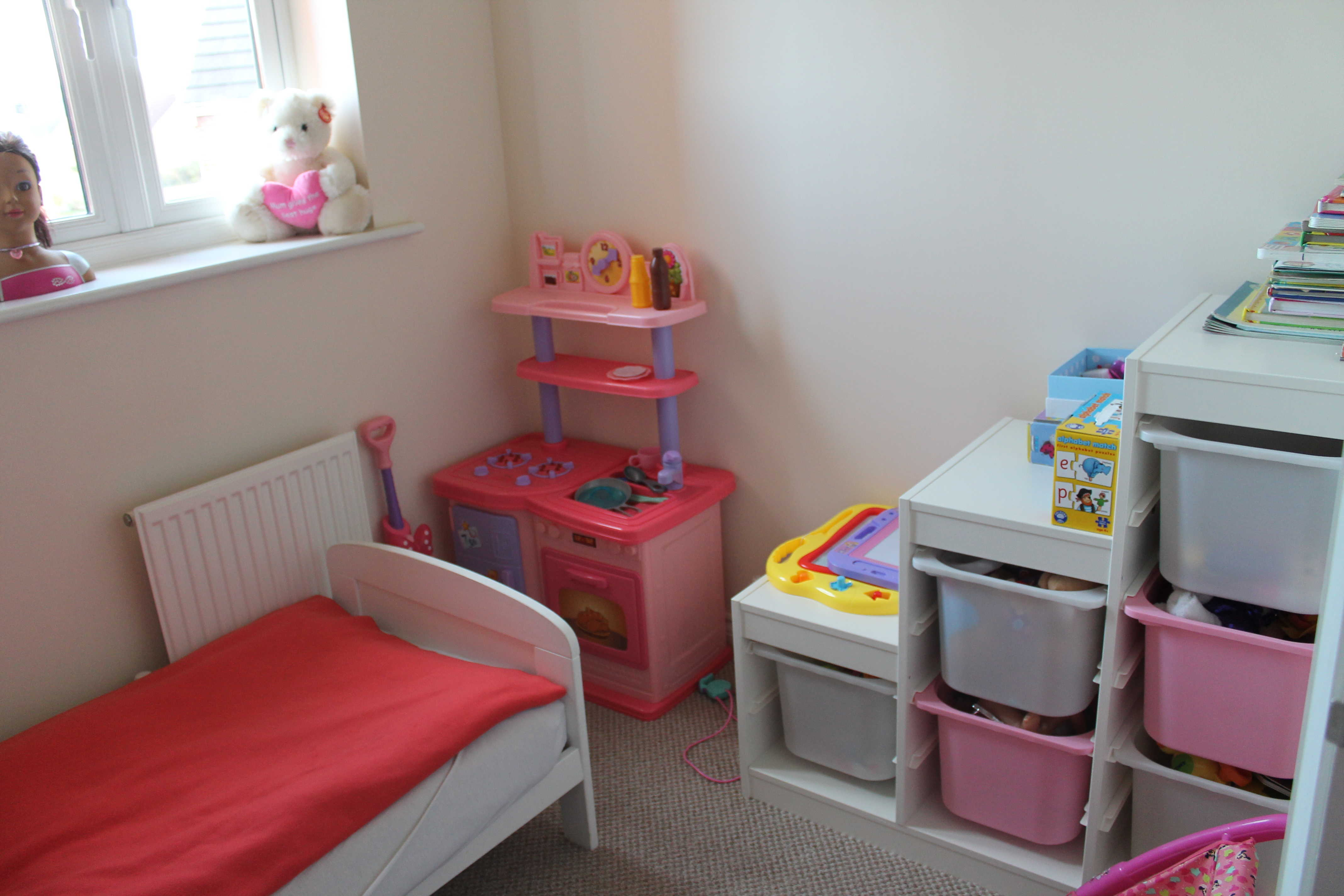 Reallocating: Our New Home In Pictures toddler room