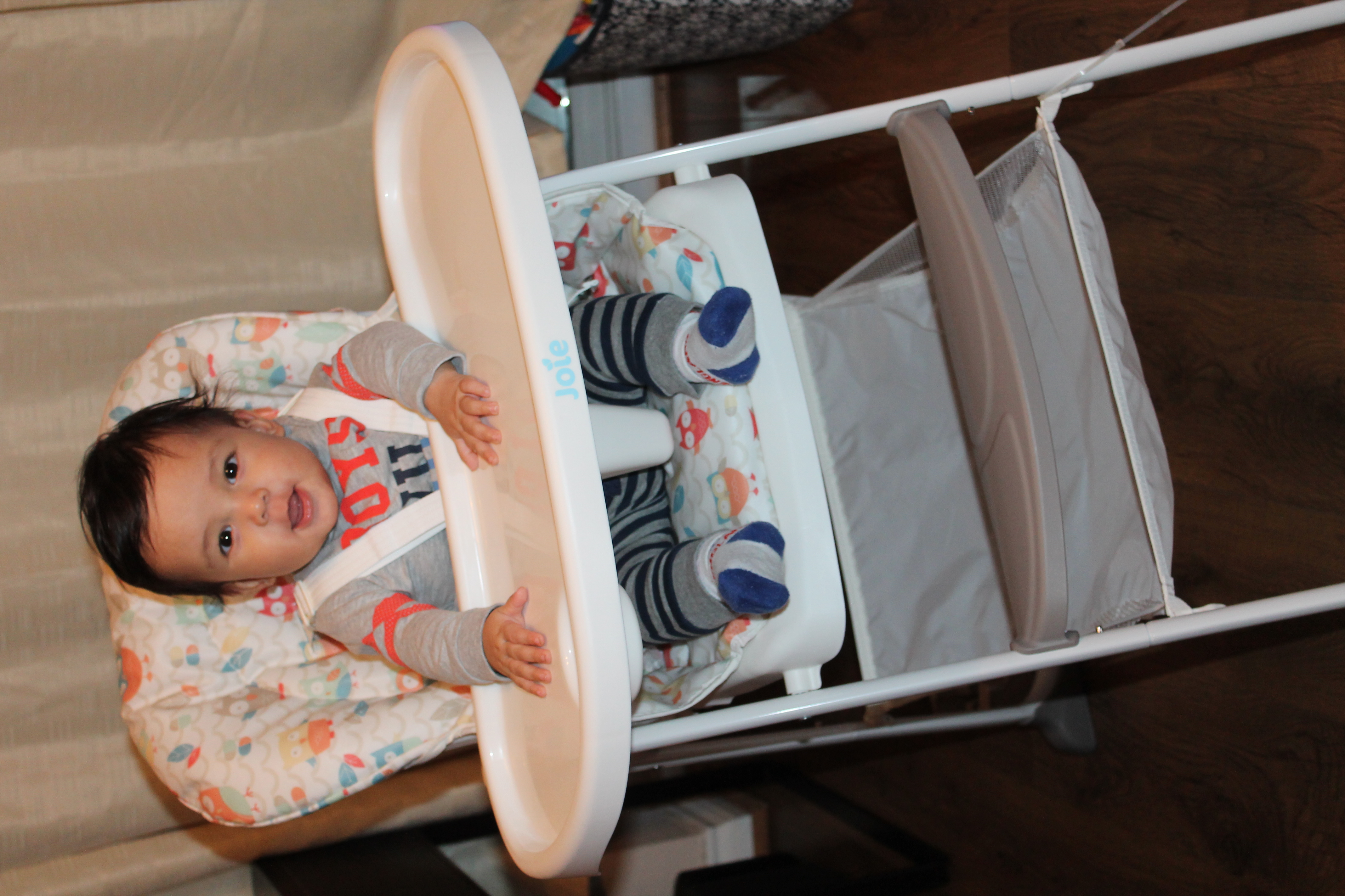 Harry Starts Solids & Joie Mimzy Snacker Highchair Review ...