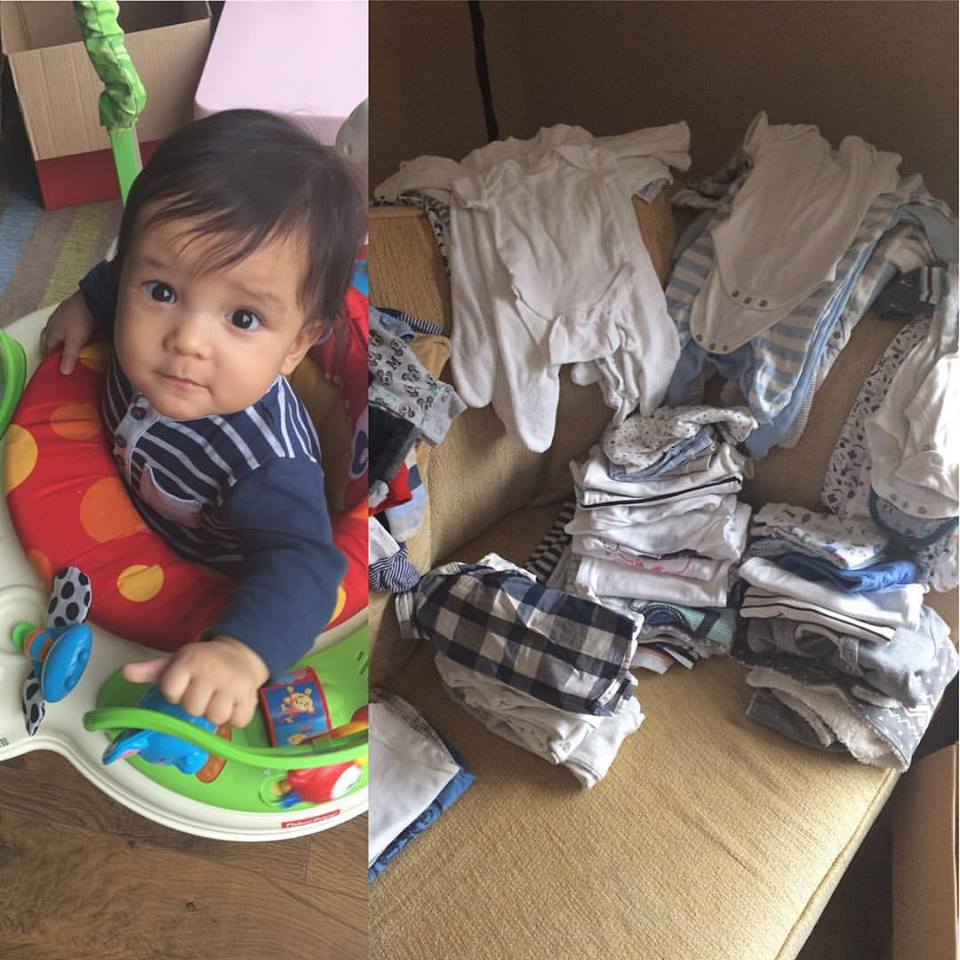 Bye Bye Baby Clothes