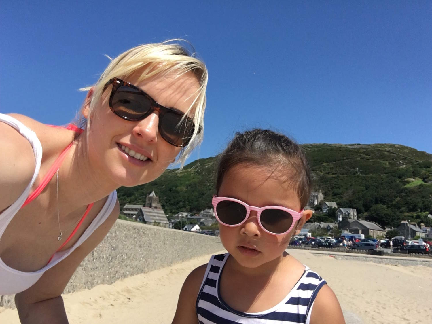 Hot Day @ Barmouth Wales
